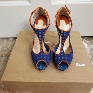 Christian Louboutin Shoes - 💙Christian Louboutin Sandals🧡